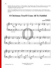 O Christmas Tree - O Come All Ye Faithful
