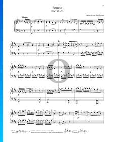 Sonata en re mayor, WoO 47 n.º 3: 1. Allegro