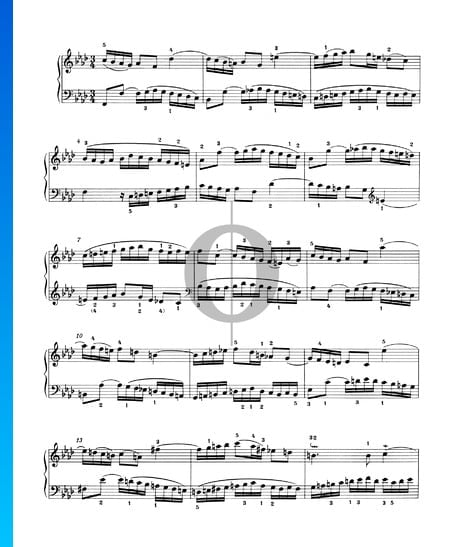 Invention 9, BWV 780 Sheet Music