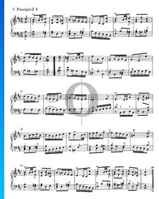 French Overture, BWV 831: 5/6. Passepied I and II