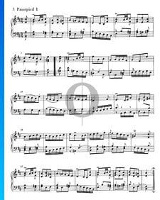 Ouverture Française, BWV 831: 5/6. Passepied I et II