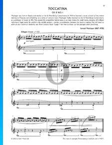 Toccatina, Op. 8, Nr. 1