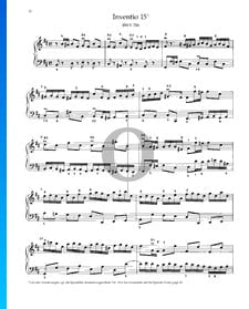 Invention 15, BWV 786