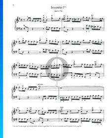 Invention 7, BWV 778