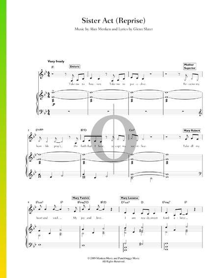 Sister Act (Reprise) Sheet Music