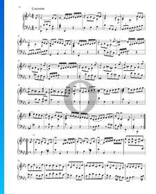 Suite en Mi bémol Majeur, BWV 1010: 3. Courante