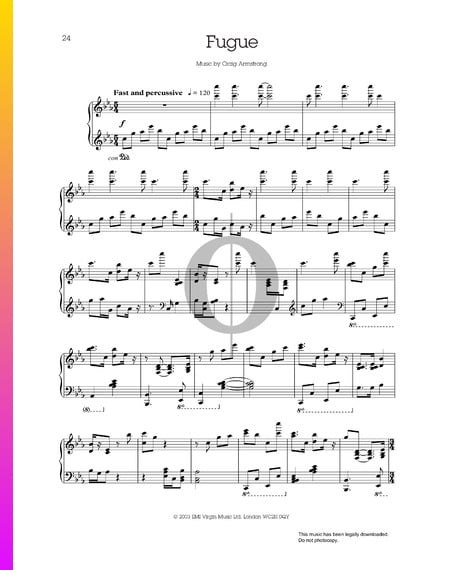 Fugue Sheet Music