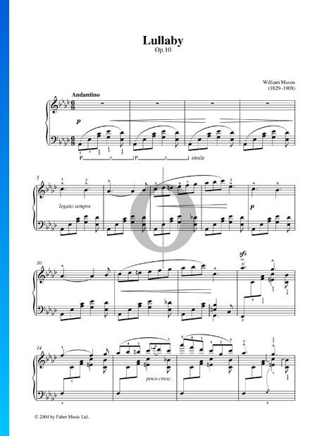 Lullaby, Op. 10 Sheet Music