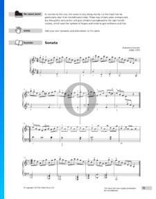 Sonate in G-Dur, K. 31