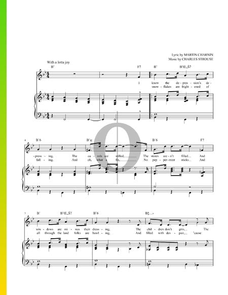 A New Deal For Christmas Sheet Music