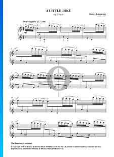 Une Petite Plaisanterie, Op. 27 No. 9