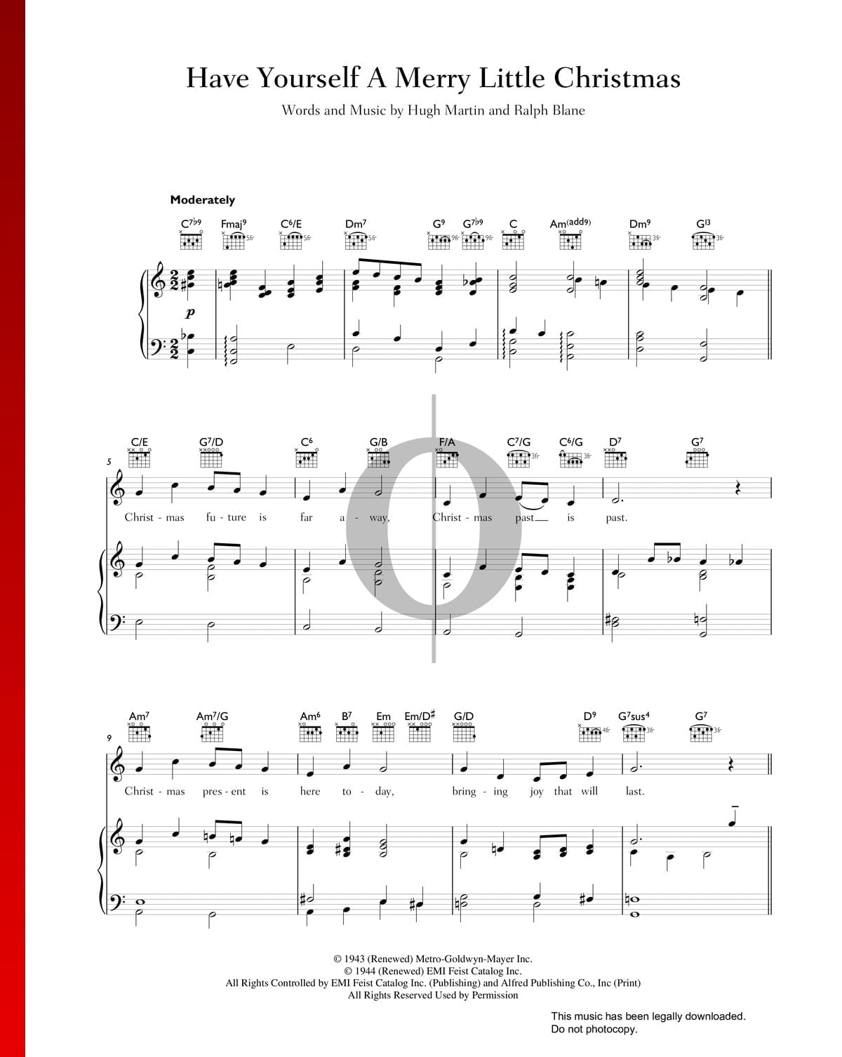 Have Yourself A Merry Little Christmas Piano Music.Have Yourself A Merry Little Christmas Sheet Music Piano