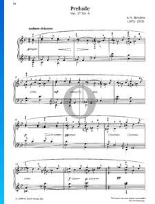 Prélude, Op. 17 No. 6