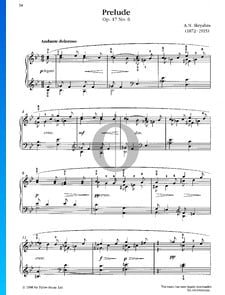 Preludio, Op. 17 n.º 6