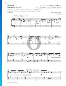 Suite pour Orchestre No. 2 en Si mineur, BWV 1067: 7. Badinerie