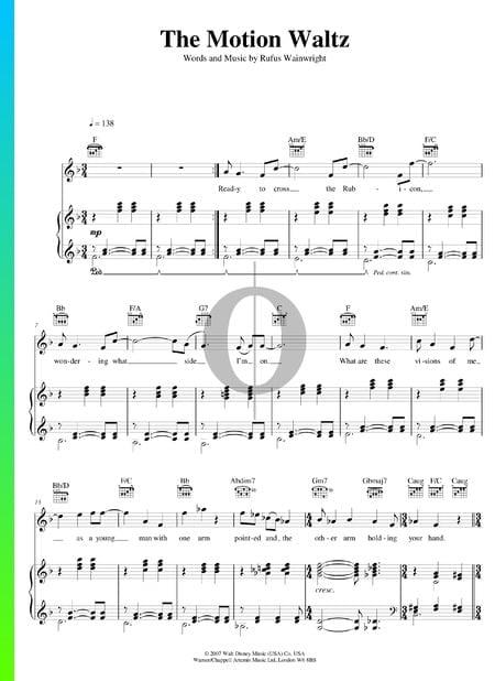 The Motion Waltz Sheet Music