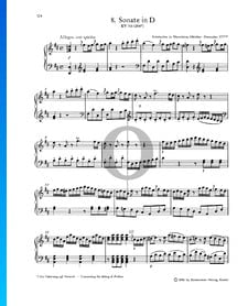 Klaviersonate Nr. 8 D-Dur, KV 311 (284c): 1. Allegro con spirito