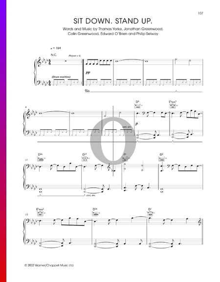 Sit Down Stand Up Sheet Music