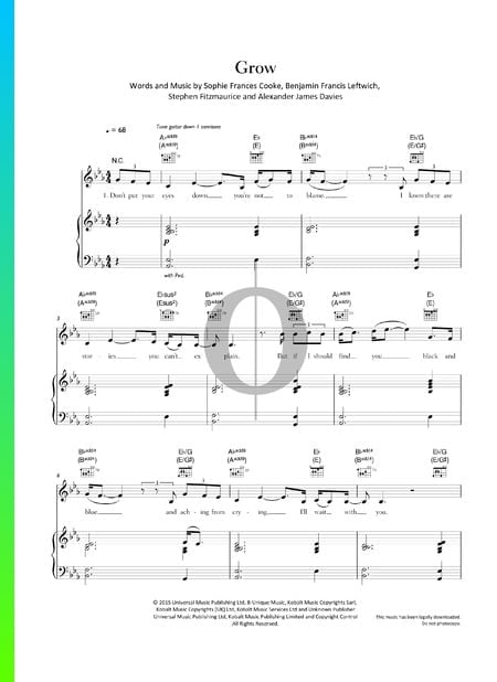 Grow Sheet Music