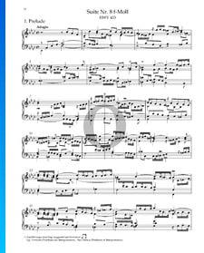 Suite No. 8 en Fa mineur, HWV 433: 1. Prélude