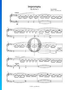 Impromptu Sol bémol Majeur, Op. 90 No. 3 (D899)