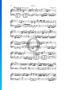 Fantasia, Douzaine III No.3: Tempo giusto, TWV 33:27