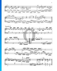 Suite n.º 3 en re menor, HWV 428: 10. Doble 5