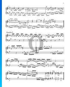 Suite Nr. 3 d-Moll, HWV 428: 10. Double 5