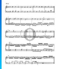 Suite en re menor, HWV 449: 5. Aria con variaciones