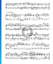 Suite inglesa n.º 2 en la menor, BWV 807: 4. Sarabanda