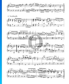 Suites Anglaises No. 2 en La mineur, BWV 807: 4. Sarabande