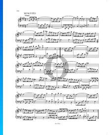 Sonate en La Majeur, P. XII: 45: 2. Menuetto