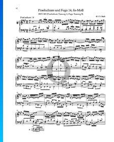 Praeludium fis-Moll, BWV 883