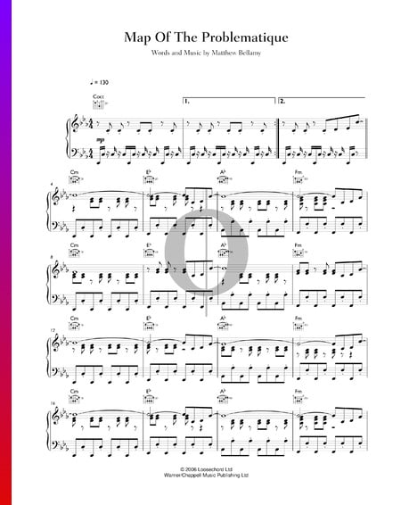 Map Of The Problematique Sheet Music
