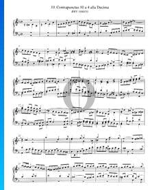 Contrapunctus 10, BWV 1080/10