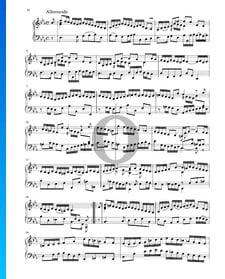 Suite in Es-Dur, BWV 1010: 2. Allemande