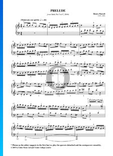 Suite Nr. 5 C-Dur, Z666: 1. Prelude
