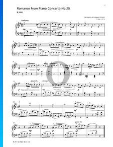 Concierto para piano n.º 20 en re menor, K. 466: 2. Romance
