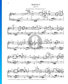 Sinfonia 5, BWV 791