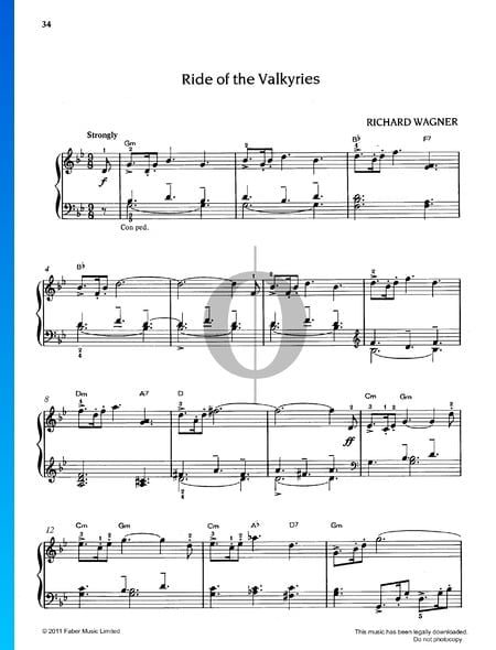 Ride Of The Valkyries Sheet Music