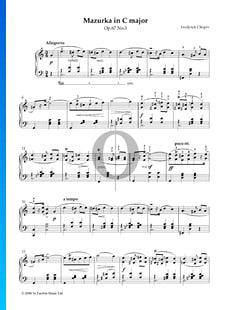 Mazurka in C Major, Op. 67 No. 3
