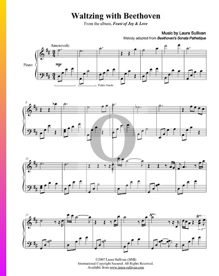 Waltzing With Beethoven Musik-Noten
