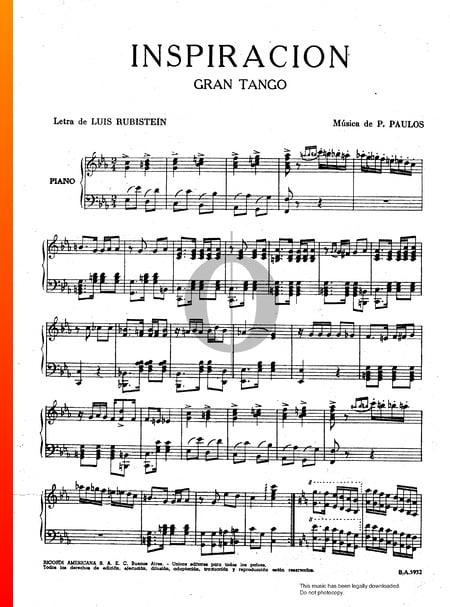 Inspiración Musik-Noten