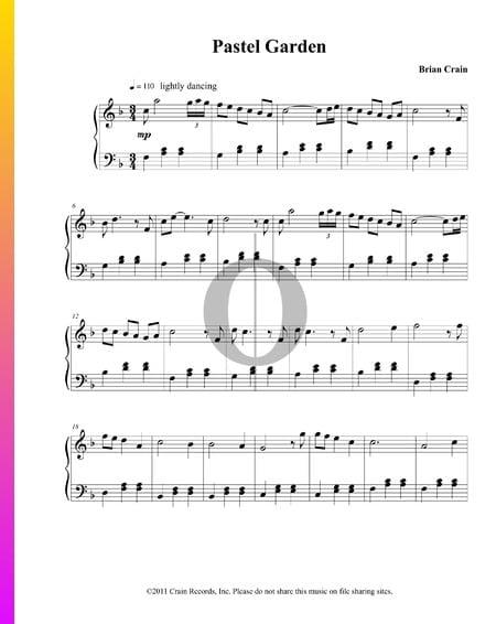 Pastel Garden Sheet Music