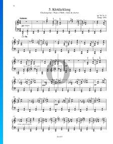 Klokkek lang, Op. 54. n.º 6