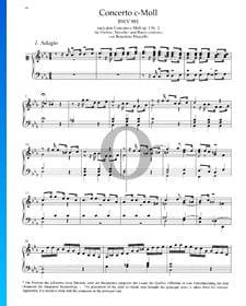 Concierto en do menor, BWV 981: 1. Adagio