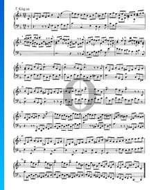 English Suite No. 4 F Major, BWV 809: 7. Gigue