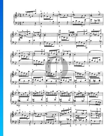 Sinfonia 11, BWV 797 Musik-Noten