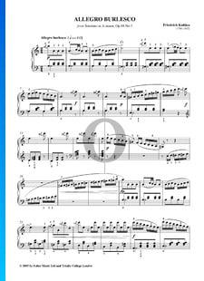 Sonatine en La mineur, Op. 88 No. 3: 3. Allegro Burlesco