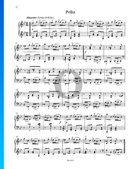 Polka, Op. 39 No. 10 Partition